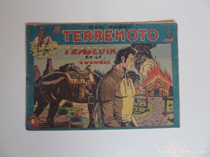 Tebeos: Dan Barry el terremoto, colección completa, suelta, 76 ejemplares de José Ortiz, Maga 1954. - Foto 147 - 277152988