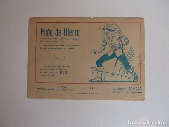 Tebeos: Dan Barry el terremoto, colección completa, suelta, 76 ejemplares de José Ortiz, Maga 1954. - Foto 148 - 277152988