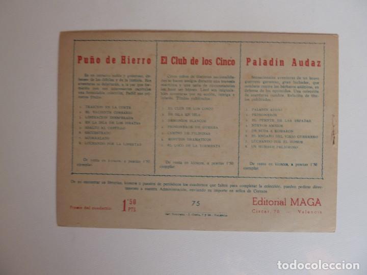 Tebeos: Dan Barry el terremoto, colección completa, suelta, 76 ejemplares de José Ortiz, Maga 1954. - Foto 150 - 277152988