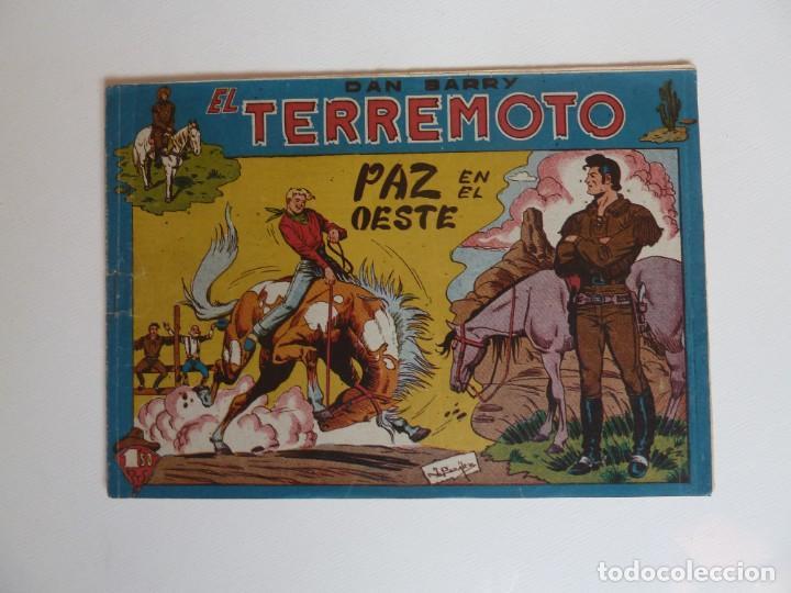 Tebeos: Dan Barry el terremoto, colección completa, suelta, 76 ejemplares de José Ortiz, Maga 1954. - Foto 151 - 277152988