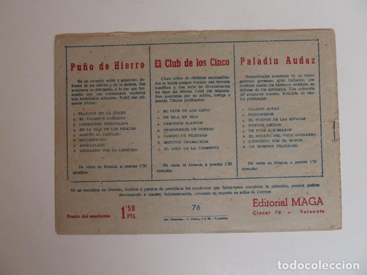 Tebeos: Dan Barry el terremoto, colección completa, suelta, 76 ejemplares de José Ortiz, Maga 1954. - Foto 152 - 277152988