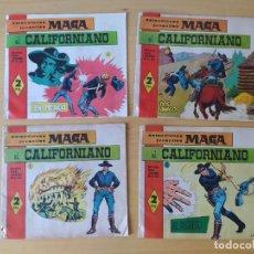 Tebeos: LOTE 4 COMICS, EL CALIFORNIANO, AÑOS 60. Lote 277729363