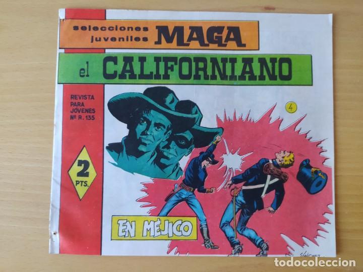 Tebeos: LOTE 4 COMICS, EL CALIFORNIANO, AÑOS 60 - Foto 3 - 277729363