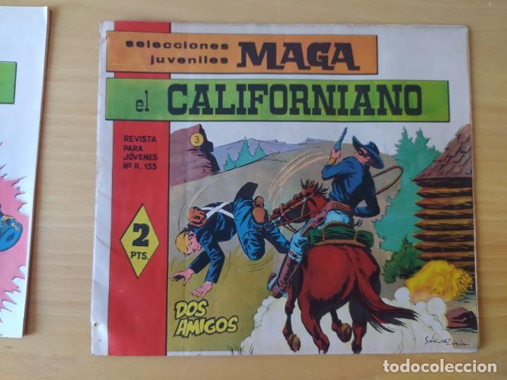Tebeos: LOTE 4 COMICS, EL CALIFORNIANO, AÑOS 60 - Foto 4 - 277729363