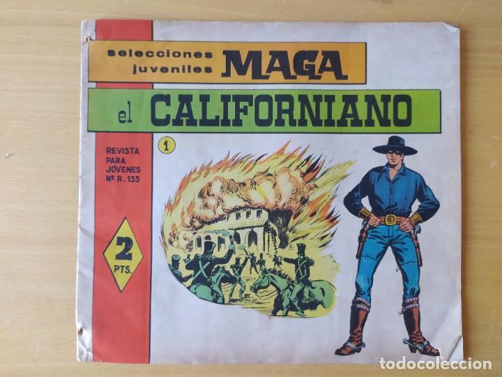 Tebeos: LOTE 4 COMICS, EL CALIFORNIANO, AÑOS 60 - Foto 5 - 277729363