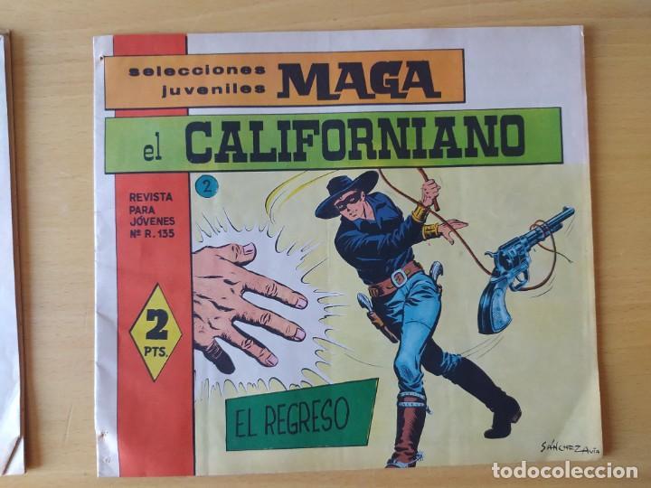 Tebeos: LOTE 4 COMICS, EL CALIFORNIANO, AÑOS 60 - Foto 6 - 277729363