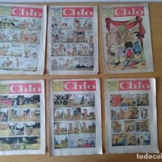 Giornalini: LOTE DE 6 COMICS CHIO, AÑOS 60.. Lote 278467028