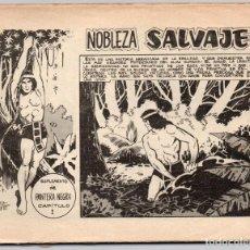 Tebeos: NOBLEZA SALVAJE-SUPLEMENTO DE PANTERA NEGRA-10 EJEMPLARES-COMPLETA. SIN TAPAS.. Lote 279379053
