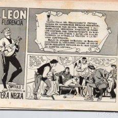 Tebeos: EL LEON DE FLORENCIA. SUPLEMENTO DE PANTERA NEGRA-10 EJEMPLARES, COMPLETA. SIN TAPAS. Lote 279379468