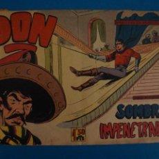 Giornalini: COMIC DE DON Z SOMBRAS IMPENETRABLES Nº 50 AÑO 1959 DE EDITORIAL MAGA LOTE 10 F. Lote 280553168