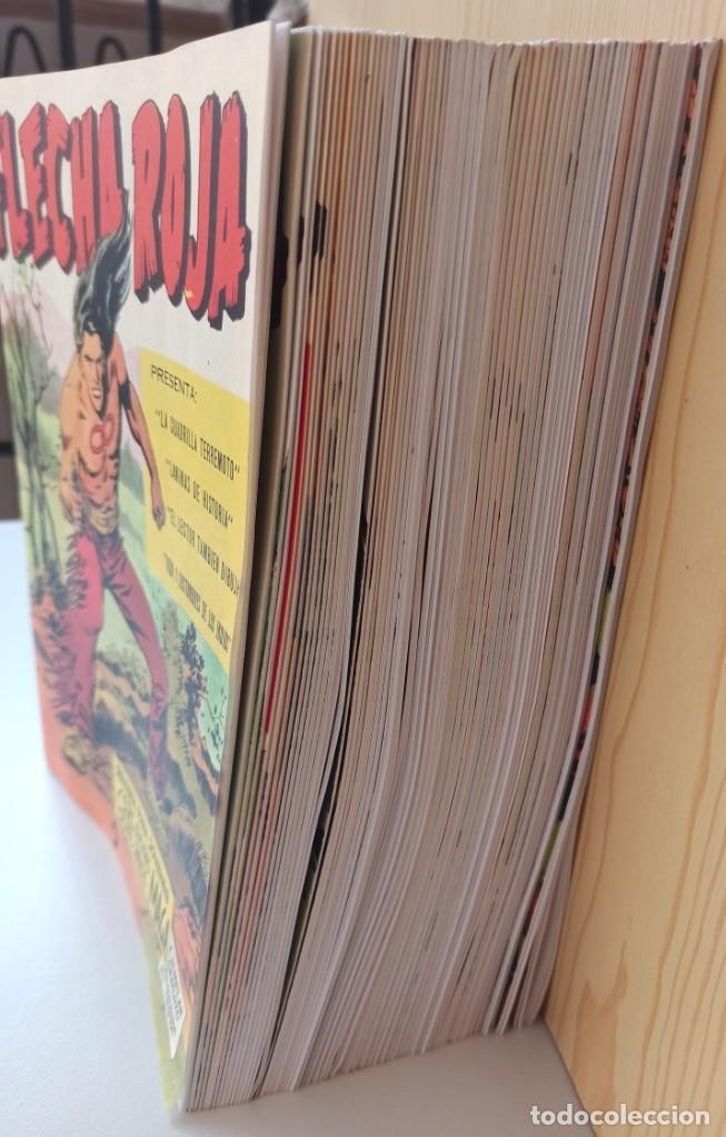 Tebeos: FLECHA ROJA REVISTA PARA JOVENES - COLECCIÓN COMPLETA 65 NUMEROS - REEDICIÓN EDITORIAL MAGA. - Foto 4 - 281798003