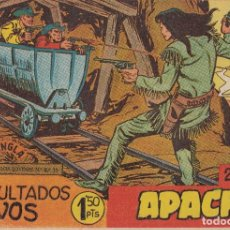 Tebeos: 'APACHE'. SEGUNDA PARTE. COLECCIÓN COMPLETA DE 76 CÓMICS DE ED. MAGA DE 1957. CONSERVACIÓN NORMAL.. Lote 283322073