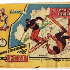 Tebeos: NÚMERO EXTRAORDINARIO DEL CLUB OLIMAN, Nº 7 - A TRAVÉS DE LA TORMENTA (MAGA/BERNABEU 1963). Lote 283387753
