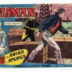 Tebeos: OLIMAN, AS DEL DEPORTE Nº 12 - UN AMIGO EN APUROS (MAGA 1961). Lote 283388698