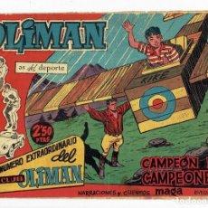 Tebeos: NÚMERO EXTRAORDINARIO DEL CLUB OLIMAN, Nº 21 - CAMPEÓN DE CAMPEONES (MAGA 1963). Lote 283449568