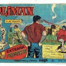 Tebeos: OLIMAN, AS DEL DEPORTE Nº 60 - EXTRAÑA PROPUESTA (MAGA 1961) ORIGINAL. Lote 283450258