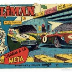 Tebeos: OLIMAN, AS DEL DEPORTE Nº 68 - LLEGADA A LA META (MAGA 1961) ORIGINAL. Lote 283450468