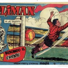 Tebeos: OLIMAN, AS DEL DEPORTE Nº 74 - BUSCANDO EL EMPATE (MAGA 1961) ORIGINAL. Lote 283450883