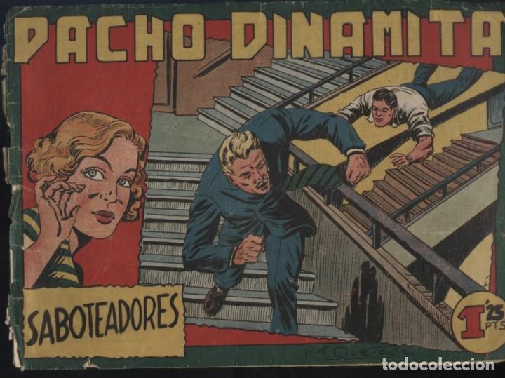 PACHO DINAMITA (MAGA) ORIGINALES 1951 LOTE (Tebeos y Comics - Maga - Pacho Dinamita)