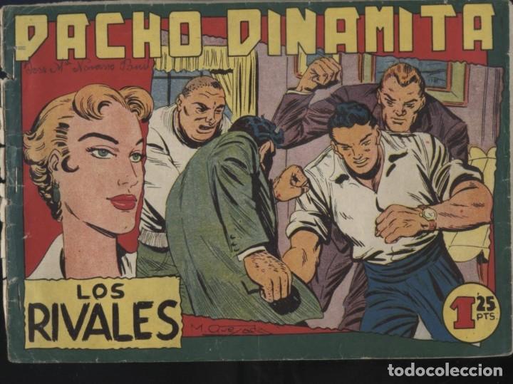 Tebeos: PACHO DINAMITA (MAGA) ORIGINALES 1951 LOTE - Foto 2 - 26288614