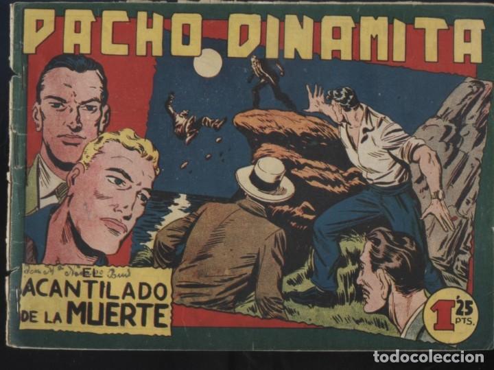 Tebeos: PACHO DINAMITA (MAGA) ORIGINALES 1951 LOTE - Foto 3 - 26288614