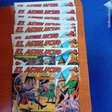 Tebeos: EL AGUILUCHO, ED. MAGA, 10 FASCICULOS SEGUIDO DEL 1 AL 10. Lote 284722788
