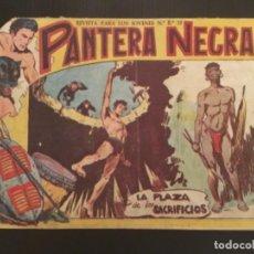 Tebeos: COMIC EDITORIAL MAGA ORIGINAL PANTERA NEGRA LA PLAZA DE LOS SACRIFICIOS 31. Lote 285125523