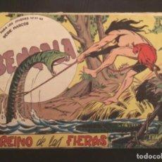 Tebeos: COMIC EDITORIAL MAGA ORIGINAL BENGALA EL REINO DE LAS FIERAS 54. Lote 285128698