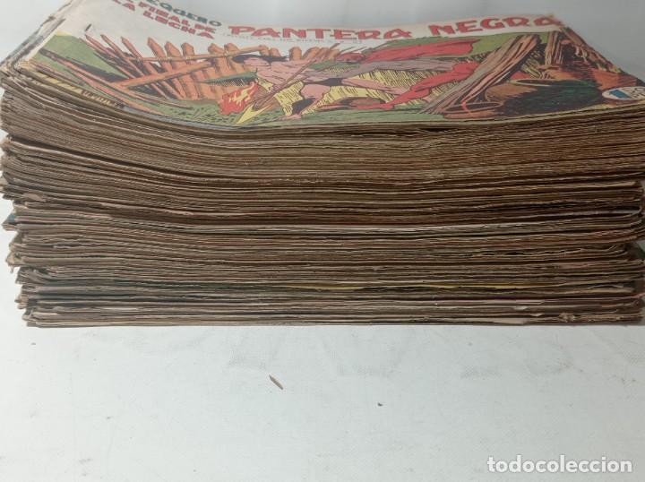 Tebeos: Original no copia. Gran lote colección pequeño pantera negra editorial maga año 1958. 238 unidades - Foto 2 - 286783533