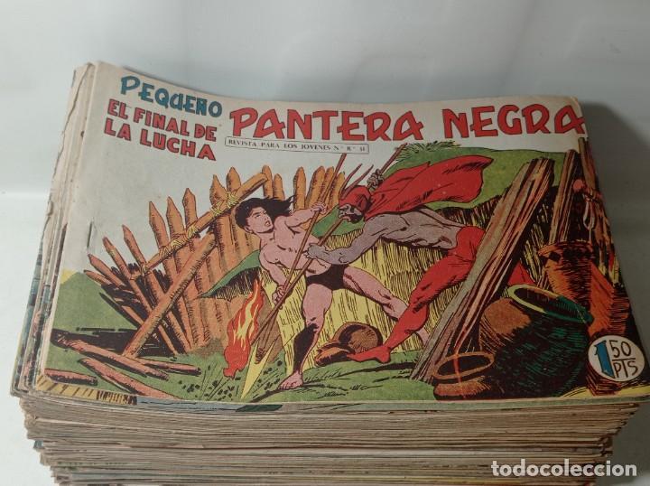 Tebeos: Original no copia. Gran lote colección pequeño pantera negra editorial maga año 1958. 238 unidades - Foto 3 - 286783533