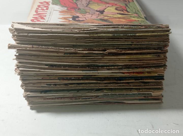 Tebeos: Original no copia. Gran lote colección pequeño pantera negra editorial maga año 1958. 238 unidades - Foto 4 - 286783533