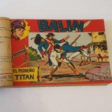"""Tebeos: BALIN COLECCION COMPLETA """"ORIGINAL"""", EDITORAL MAGA 1955. Lote 287095443"""