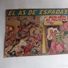 Tebeos: AS DE ESPADAS Nº 2 MAGA ORIGINAL. Lote 287325753