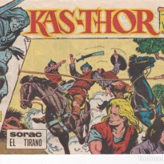Livros de Banda Desenhada: KAS-THOR EL VIKINGO : NUMERO 15 SORAC EL TIRANO, EDITORIAL MAGA. Lote 287418568