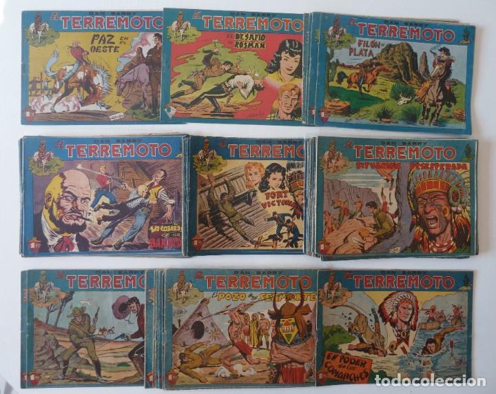 Tebeos: Dan Barry el terremoto, colección completa, suelta, 76 ejemplares de José Ortiz, Maga 1954. - Foto 155 - 277152988