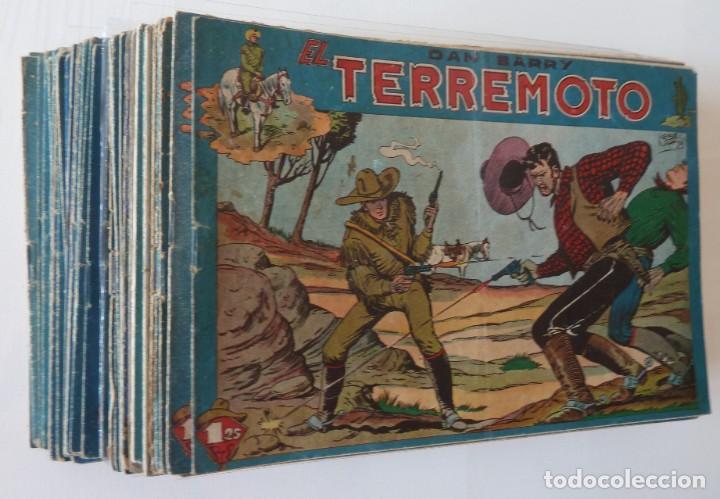 Tebeos: Dan Barry el terremoto, colección completa, suelta, 76 ejemplares de José Ortiz, Maga 1954. - Foto 156 - 277152988