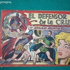 Tebeos: EL DEFENSOR DE LA CRUZ EN BRAULIO ASUNTIO. Nº 8. EDITORIAL MAGA.. Lote 288489423