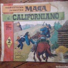 Tebeos: EL CALIFORNIANO N°3 SELECCIONES JUVENILES MAGA. Lote 288559178