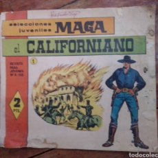 Tebeos: EL CALIFORNIANO N°2 SELECCIONES JUVENILES MAGA. Lote 288559673