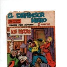Tebeos: EL DEFENSOR NEGRO Nº 2. LOS NICOLS. SERIE CARAVANAS Y RANCHEROS. MAGA, 1963. Lote 288561043