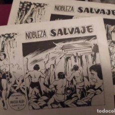 Tebeos: NOBLEZA SALVAJE SUPLEMENTO DE PANTERA NEGRA CAPÍTULO VI Y X. Lote 289013998