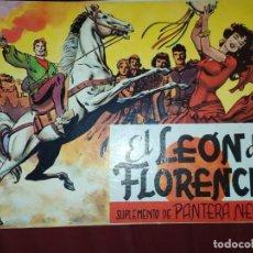 Tebeos: SOLO TAPAS EL LEÓN DE FLORENCIA SUPLEMENTO DE PANTERA NEGRA. Lote 289014643