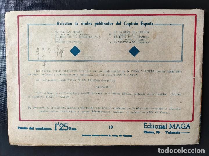Tebeos: TEBEO- EL CAPITÁN ESPAÑA en LA RUTA de MALAITA - Foto 2 - 289272223