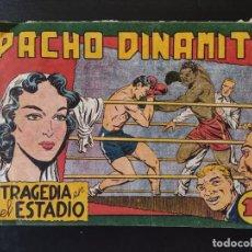 Tebeos: TEBEO- PACHO DINAMITA- TRAGEDIA EN EL ESTADIO. Lote 289286748
