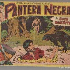 Tebeos: PANTERA NEGRA. Nº 6. LA ROCA DE LA MUERTE. EDITORIAL MAGA, 1958. ¡¡ ORIGINAL !!.(C/A101). Lote 289457628