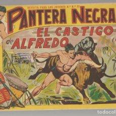 Tebeos: PANTERA NEGRA. Nº 24. EL CASTIGO DE ALFREDO. EDITORIAL MAGA, 1958. ¡¡ ORIGINAL !!.(C/A101). Lote 289457768
