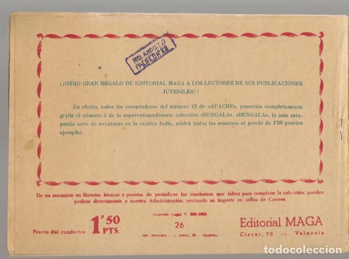 Tebeos: PANTERA NEGRA. Nº 26. JULIANA Y HAMED. EDITORIAL MAGA, 1958. ¡¡ ORIGINAL !!.(C/A101) - Foto 2 - 289457878
