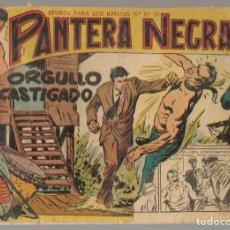 Tebeos: PANTERA NEGRA. Nº 32. ORGULLO CASTIGADO. EDITORIAL MAGA, 1958. ¡¡ ORIGINAL !!.(C/A101). Lote 289458273