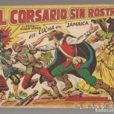 Tebeos: EL CORSARIO SIN ROSTRO. Nº 2. LUCHA EN JAMAICA. EDITORIAL MAGA, 1959. ¡¡ORIGINAL!!. /C/A101). Lote 289460328