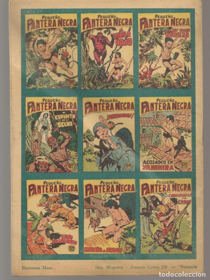 Tebeos: PANTERA NEGRA. ALMANAQUE PARA 1959. EDITORIAL MAGA. ¡¡ORIGINAL!!. /C/A100) - Foto 2 - 289461758